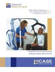 3 Safe Patient Handling in Your Healthcare Facility - Joerns