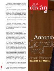 D. Antonio González - Revista DINTEL Alta Dirección
