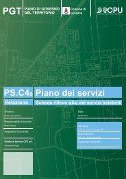 Piano dei servizi - Comune di Corzano