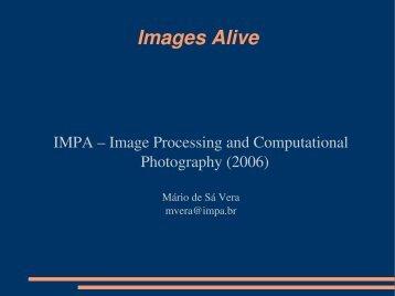 Images Alive - Impa