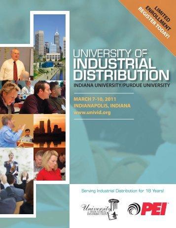 INDUSTRIAL DISTRIBUTION - Petroleum Equipment Institute