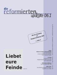 Liebet eure Feinde - Reformierter Bund
