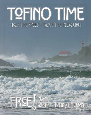 Tofino Time Magazine January 2010