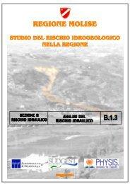 Analisi del rischio idraulico - Regione Molise