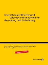 Internationaler Briefversand: Wichtige Informationen für Gestaltung ...