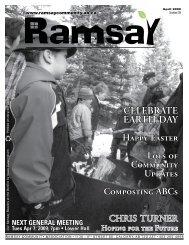 April 2009 - Ramsay Community Association