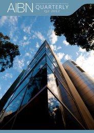 2012 Quarter 2 - Australian Institute for Bioengineering and ...