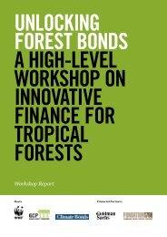 Unlocking forest bonds: a workshop report - WWF