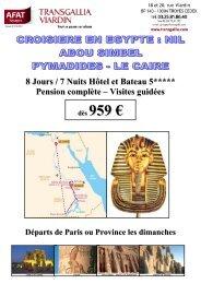 dès 959 € - Afat