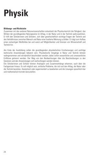 Link-Ebene Physik Aufgabenbeispiel: Wellenberge und ... - Lehrplan
