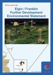 Elgin / Franklin Further Development Environmental Statement - IEMA