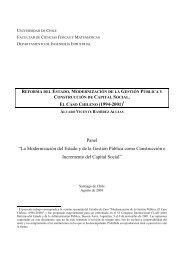 Reforma del Estado, Modernización de la Gestión Pública y ...