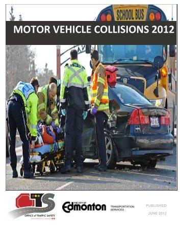 Motor Vehicle Collisions 2012 - City of Edmonton