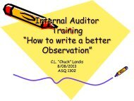 How to Write a Better Observation - ASQ-1302