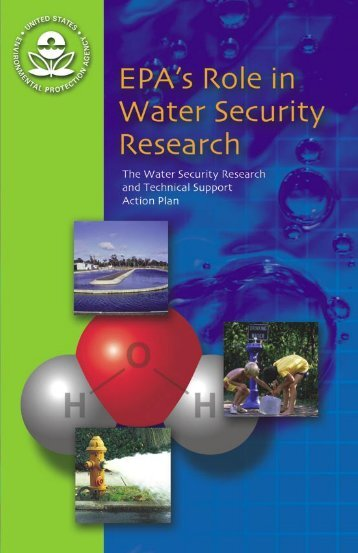 EPA's Role in Water Security Research - Water - US Environmental ...