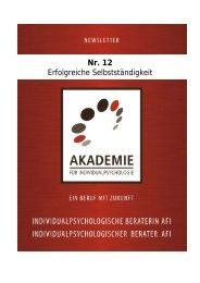 Nr. 12 Erfolgreiche Selbstständigkeit - Akademie für ...