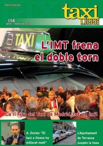 Los gestores de licencia, el cáncer del Taxi - Stac