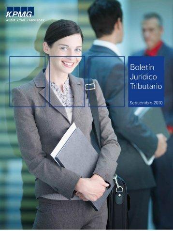 Boletín Jurídico Tributario Septiembre - cpzulia.org