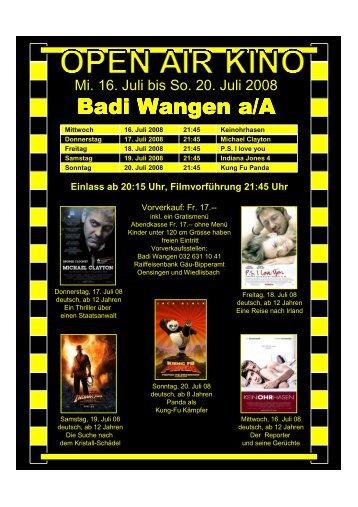 Badi Wangen a/A Wangen a/A - bei der Badi Wangen an der Aare