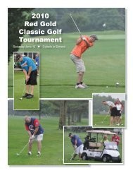 06/23/2010 / Red Gold Classic Golf Tournament