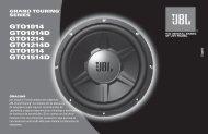 amplificador - JBL.com