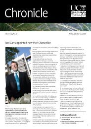 Rod Carr appointed new Vice-Chancellor - Communications and ...