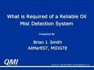 What is Required of a Reliable Oil Mist Detection System - ukelg