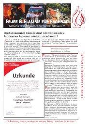 Feuer und Flamme (pdf) - Freiwillige Feuerwehr Frohnau