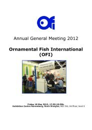 Ornamental Fish International