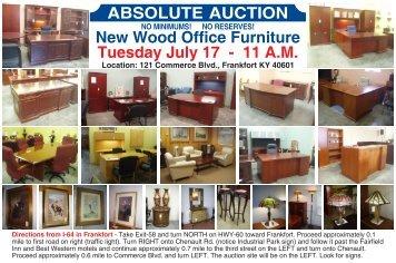 Martins Office Furniture, Frankfort KY, July 17, 2007