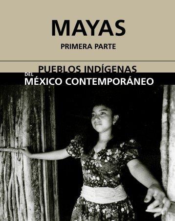 Monografía. Mayas - Comisión Nacional para el Desarrollo de los ...