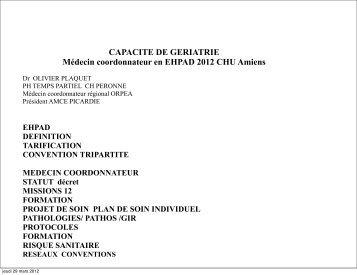 Dr Plaquet cas cliniques - PIRG