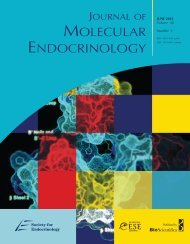 Front Matter (PDF) - Journal of Molecular Endocrinology
