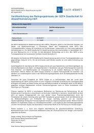 GEFA PDF 130212 - Euler Hermes Rating Deutschland GmbH