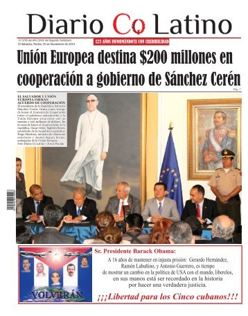 Edición 25 de Noviembre de 2014