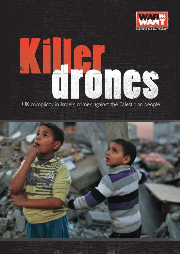 Killer Drones, War on Want