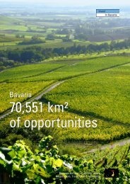 70,551 km² of opportunities - the Bavarian US Offices for Economic ...