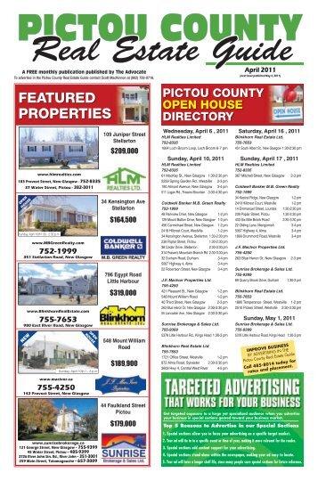 PCREGuide April 2011.pdf - The Pictou Advocate