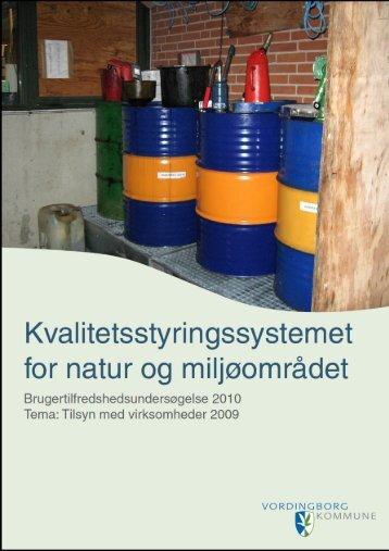 Brugertilfredshedsundersøgelse 2010 - Vordingborg Kommune