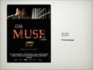 Die Muse Spielfilm Pressemappe - HIGH5FILMS BERLIN
