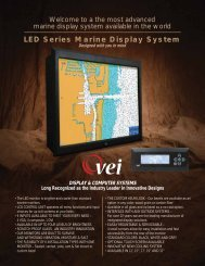 LED Series Marine Display System - VEI Systems