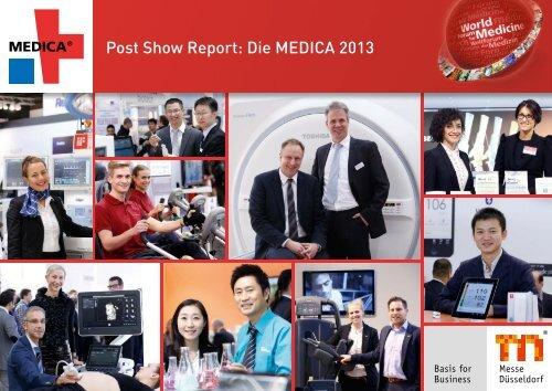 Rückblick der MEDICA 2013 mit Aussteller- und Besucherstimmen