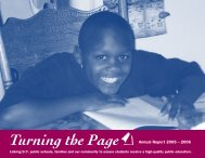 Annual Report 2005 – 2006 - Turning the Page
