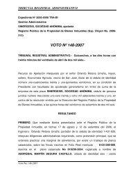 148-2007 TRA publicidad de inexactitud catastro-registro ... - ICODEN