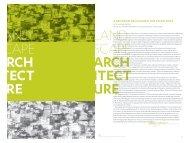 Landscape Architecture - Stuckeman