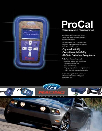 ProCal - Ford Racing