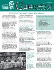 Newsletter Winter 2006 - North Hills Community Outreach