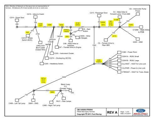 wiring diagram body harness