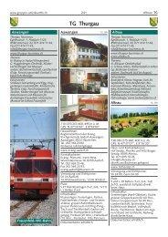 TG Thurgau - gruppen-unterkuenfte