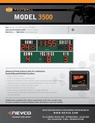 MODEL 3500 - Nevco